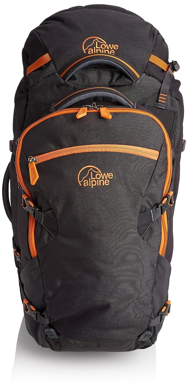 Lowe Alpine Trekkingrucksack AT Travel Trekker, Anthracite/Tangerine ...