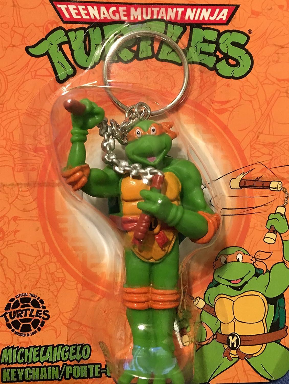Teenage Mutant Ninja Turtles Michelangelo Keychain