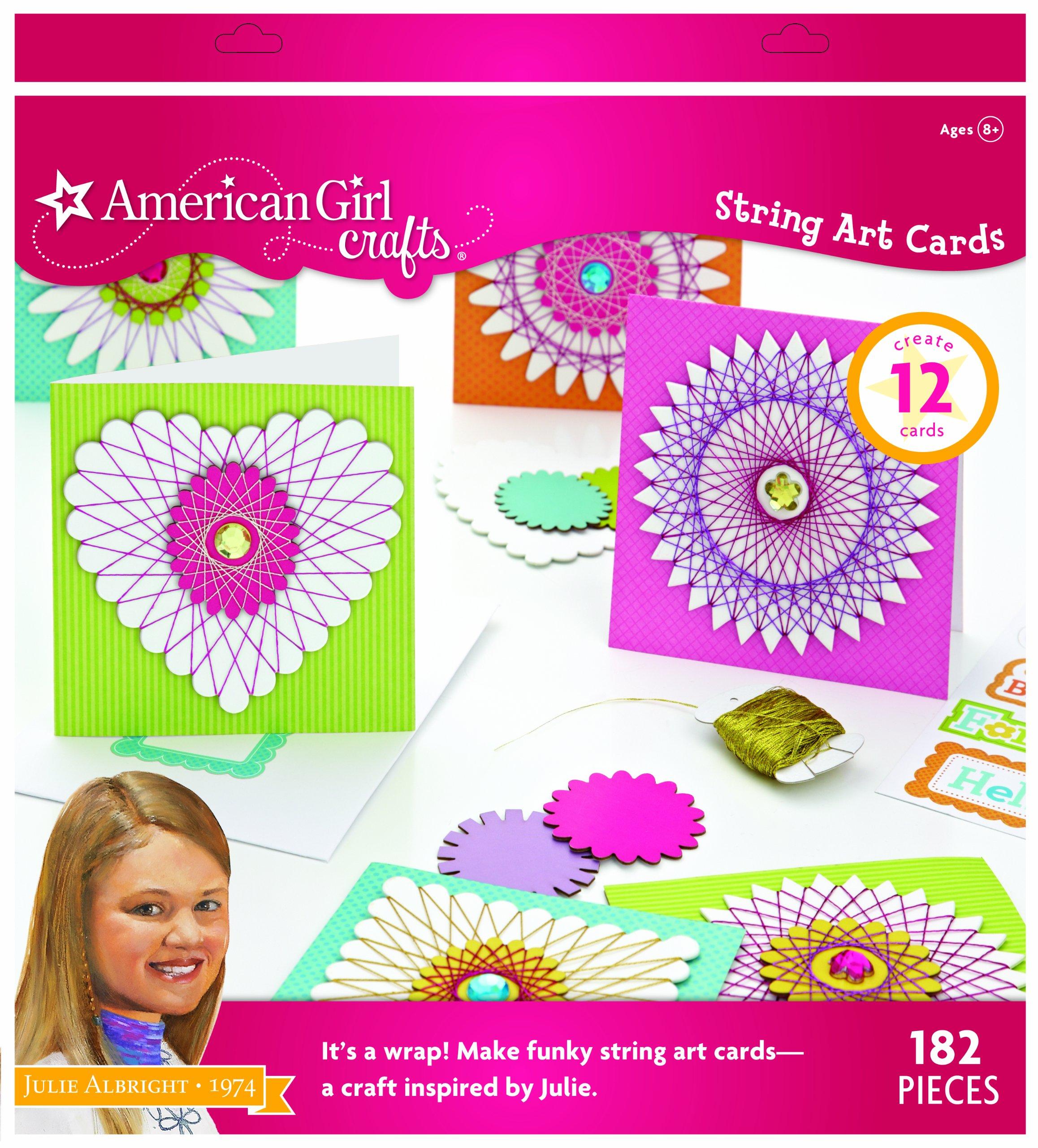 EK Success American Girl Crafts Art Kit, Julie Albright String Cards