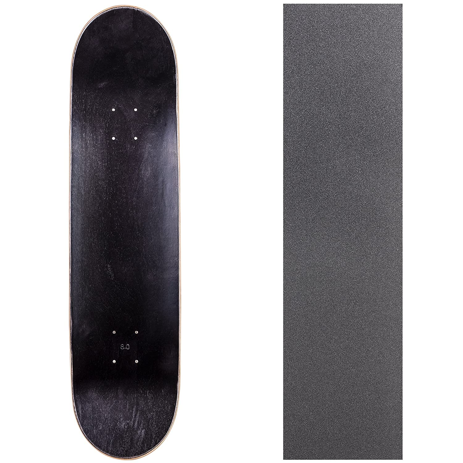 Cal 7 Blank Skateboard Deck with Grip Tape | 7 75, 8 0, 8 25