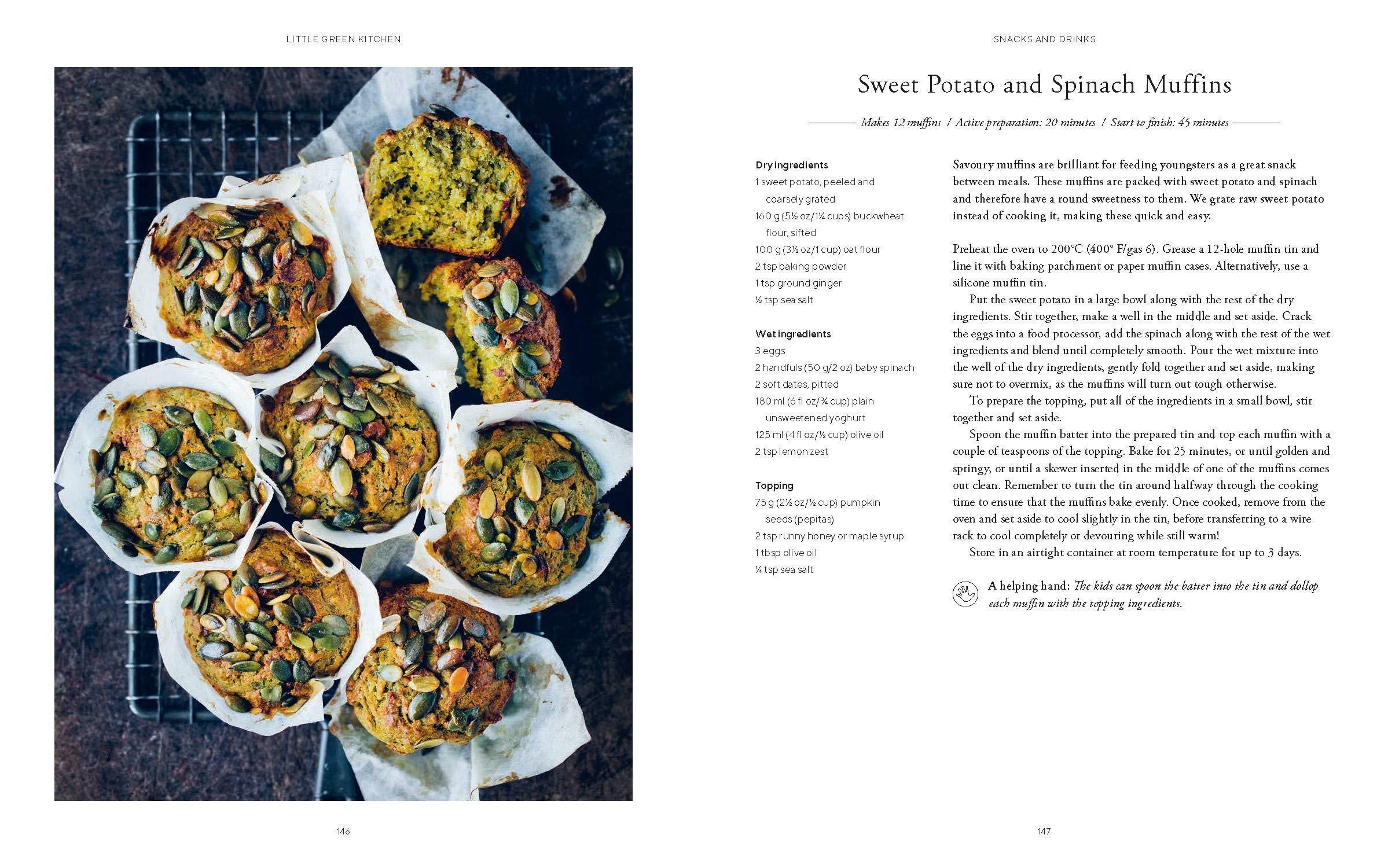 Little Green Kitchen Simple Vegetarian Family Recipes