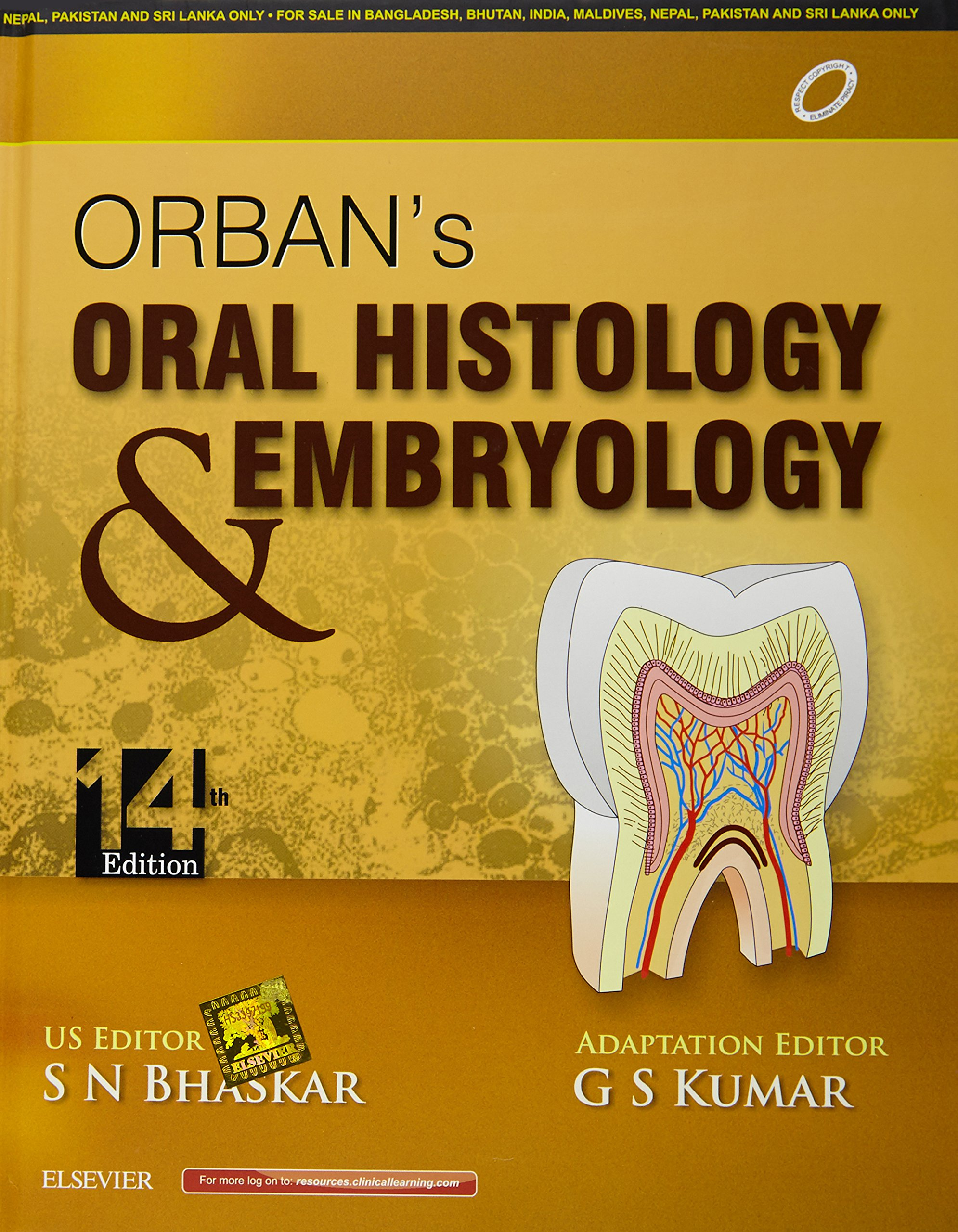 Buy Orban\'s Oral Histology and Embryology (Package) Book Online at ...