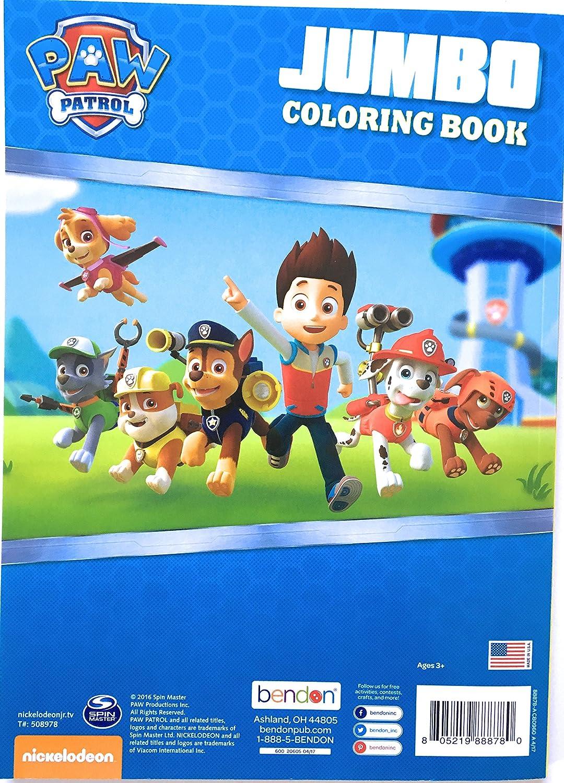 Call The Paw Patrol Jumbo Coloring Book