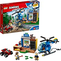 LEGO Juniors Mountain Police Chase Building Blocks for Kids 4 to 7 Years (115 pcs) 10751 (Multi Color)