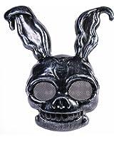 Dark Frank The Creepy Black Rabbit PVC Half Mask Bunny Animal Costume Accessory