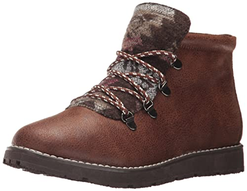 175c1b243c5b5 Skechers BOBS from Women's Bobs Alpine-Keep Trekking Ankle Bootie,  Chocolate, ...