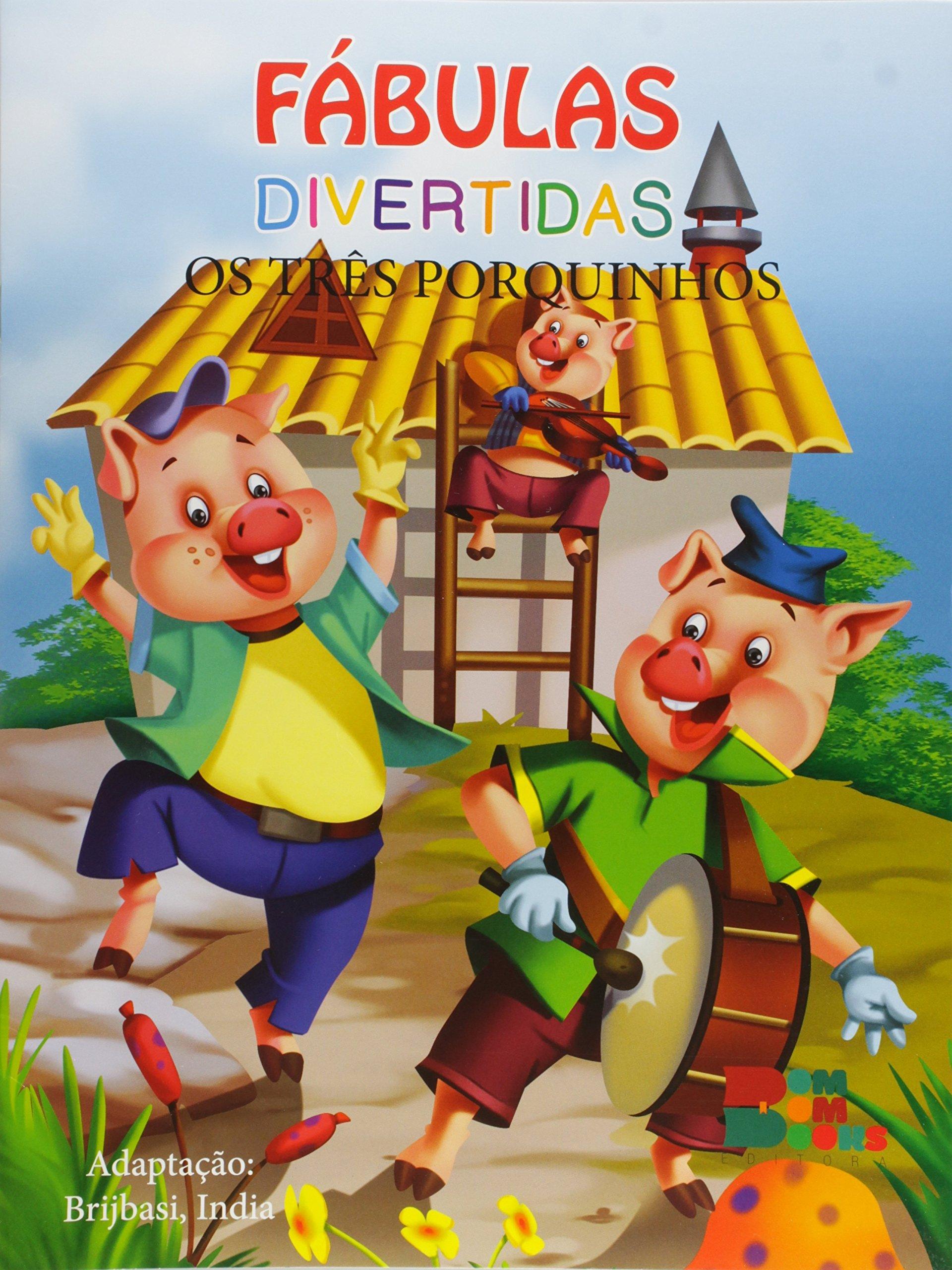 Fabulas Divertidas Os Tres Porquinhos Brijbasi India