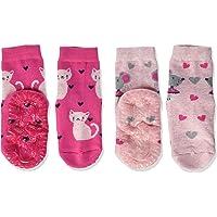 Sterntaler Fli Air Dp Katze+maus calcetines (Pack de 2) para Niñas