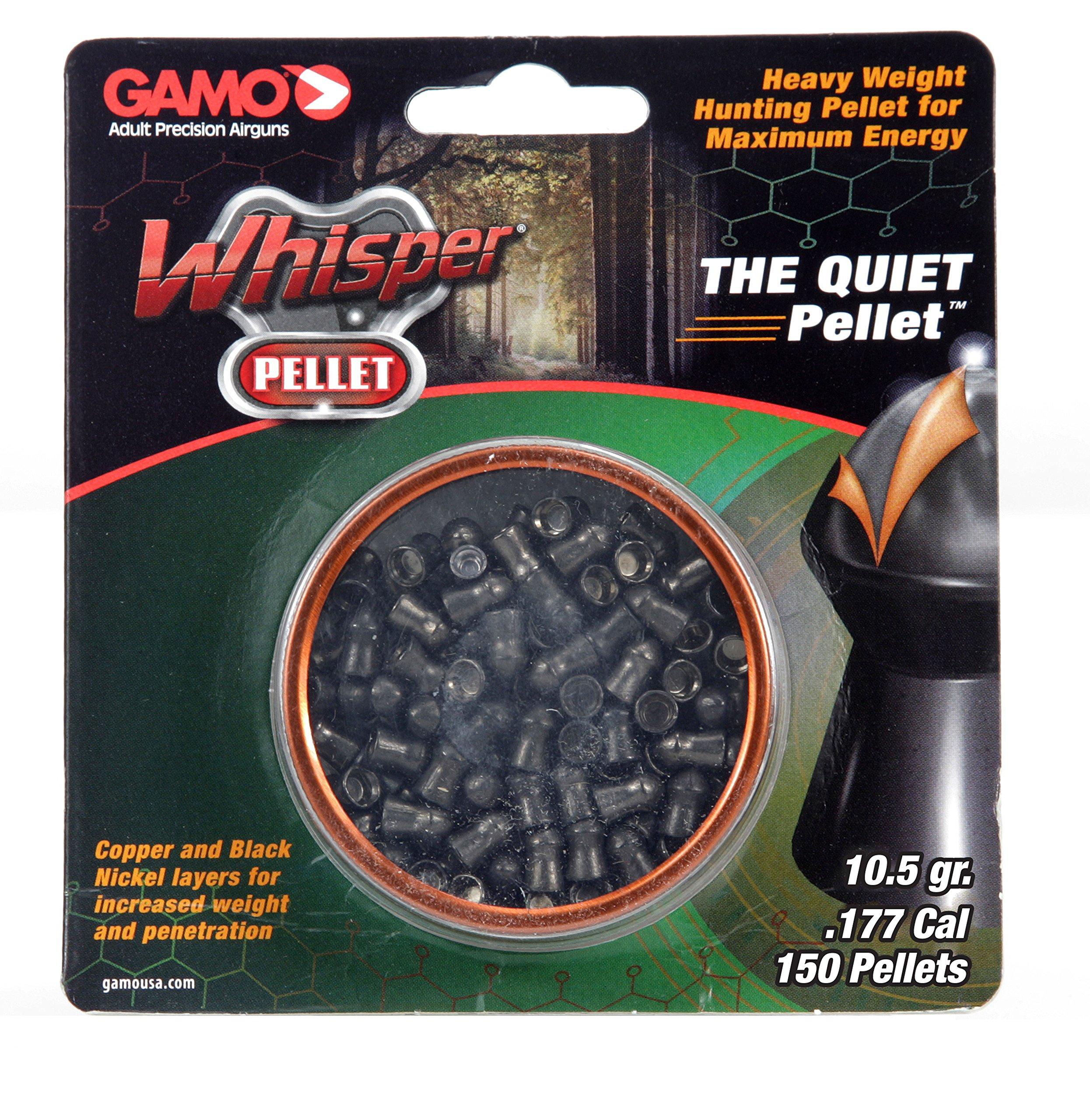 Gamo 632272254 Whisper Pellet .177 Caliber, 150 Count by Gamo