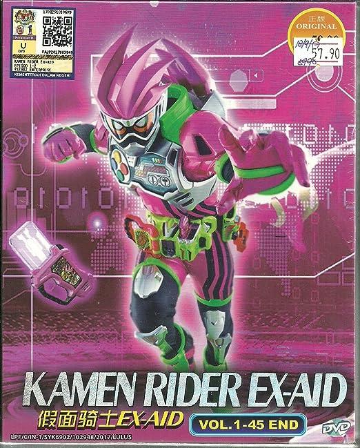 KAMEN RIDER EX-AID - COMPLETE TV SERIES DVD BOX SET (45 EPISODES)