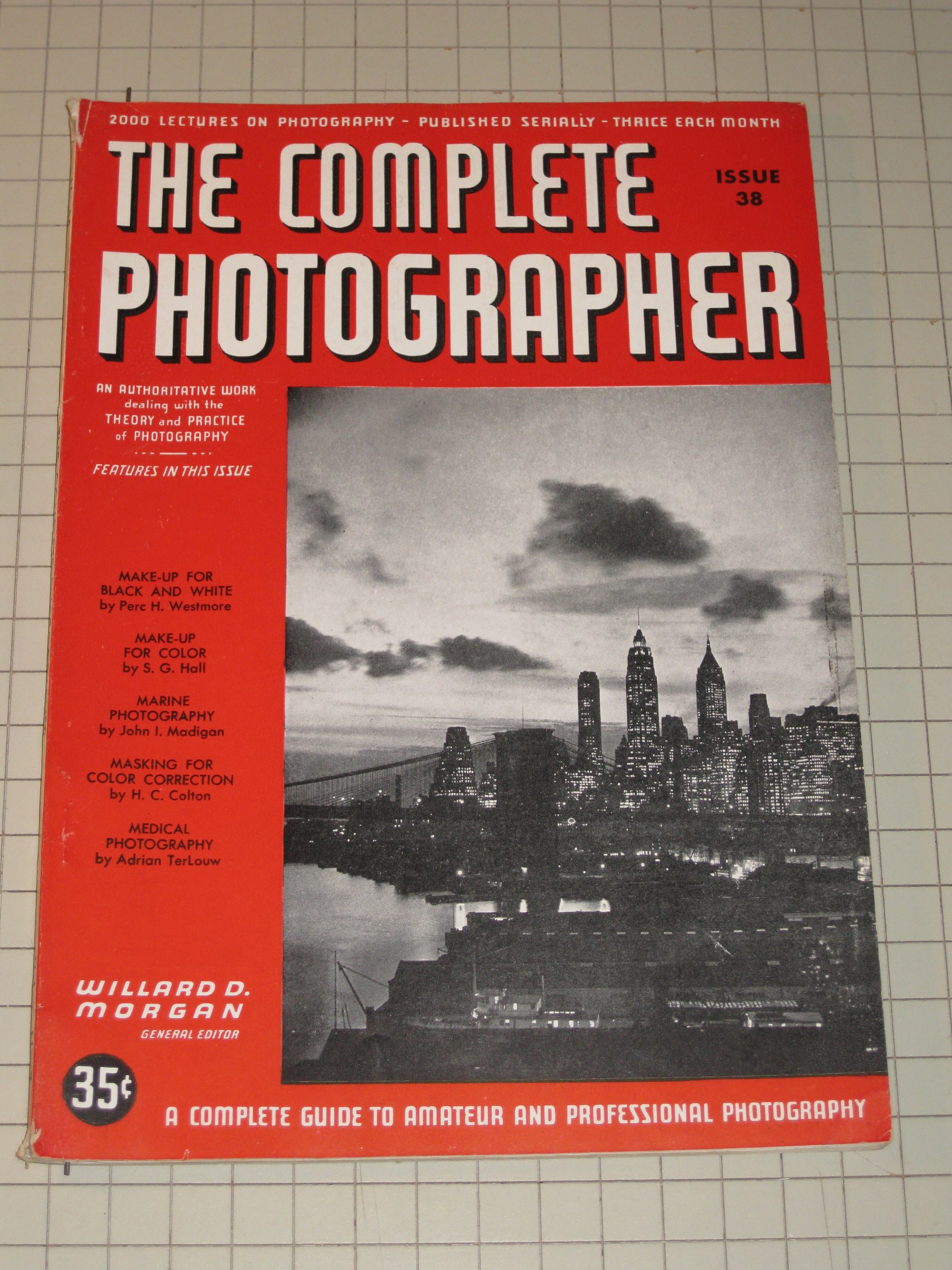1942 The Complete Photographer: Make-Up For Color - Marine Photography - Medical Photography