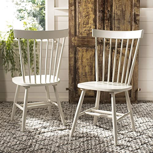 Safavieh American Homes Collection Parker Country Farmhouse Grey Spindle Side Chair Set of 2