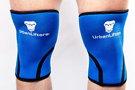 ginocchiere crossfit uomo  Urban Lifters Ginocchiere (Coppia) Crossfit 7mm Knee Sleeves Ottimo ...