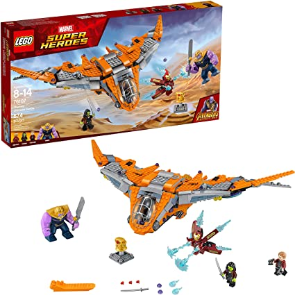 LEGO Marvel Super Heroes Avengers Infinity War Thanos Ultimate Battle 76107