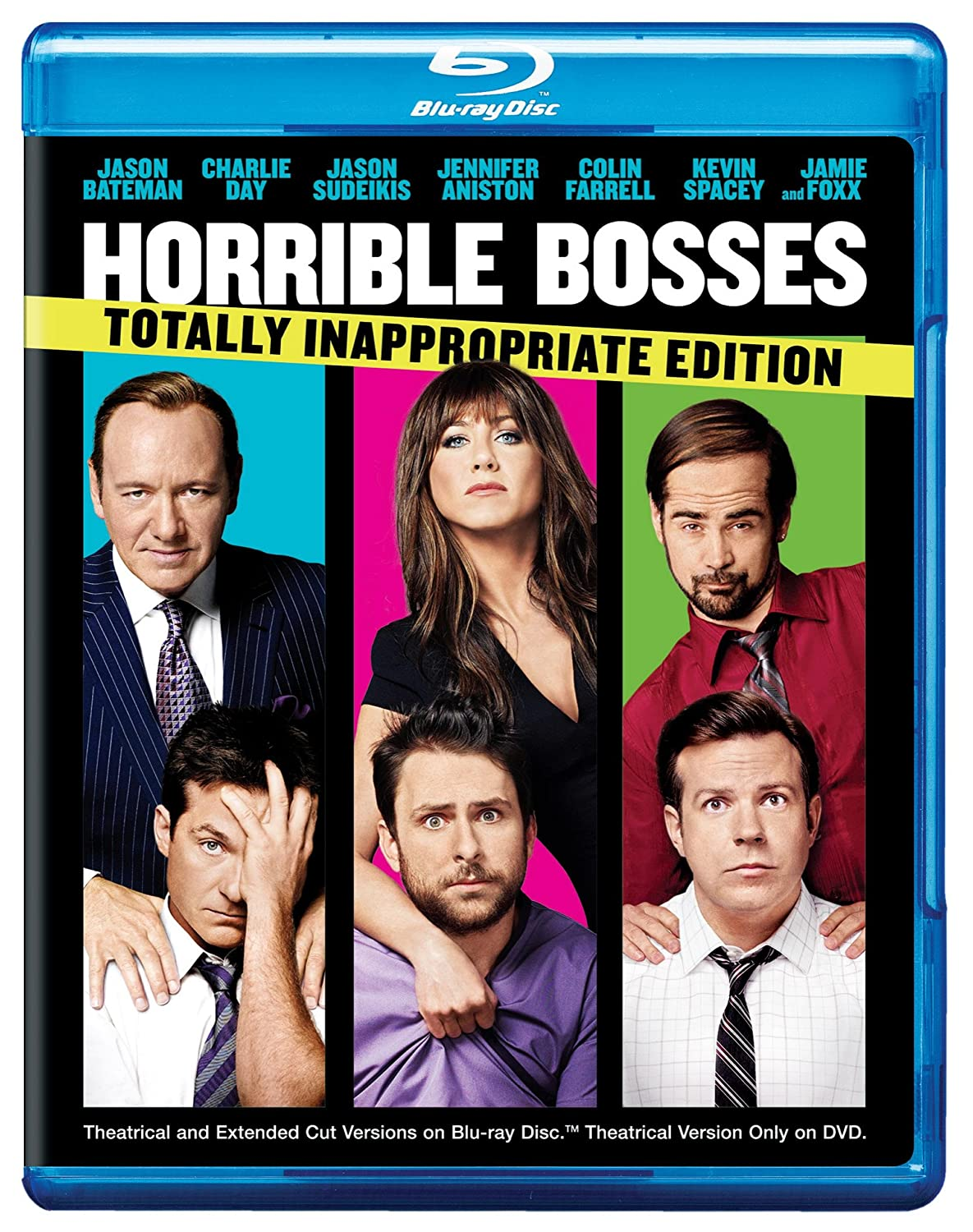 com horrible bosses totally inappropriate edition blu com horrible bosses totally inappropriate edition blu ray jason bateman jennifer aniston seth gordon movies tv