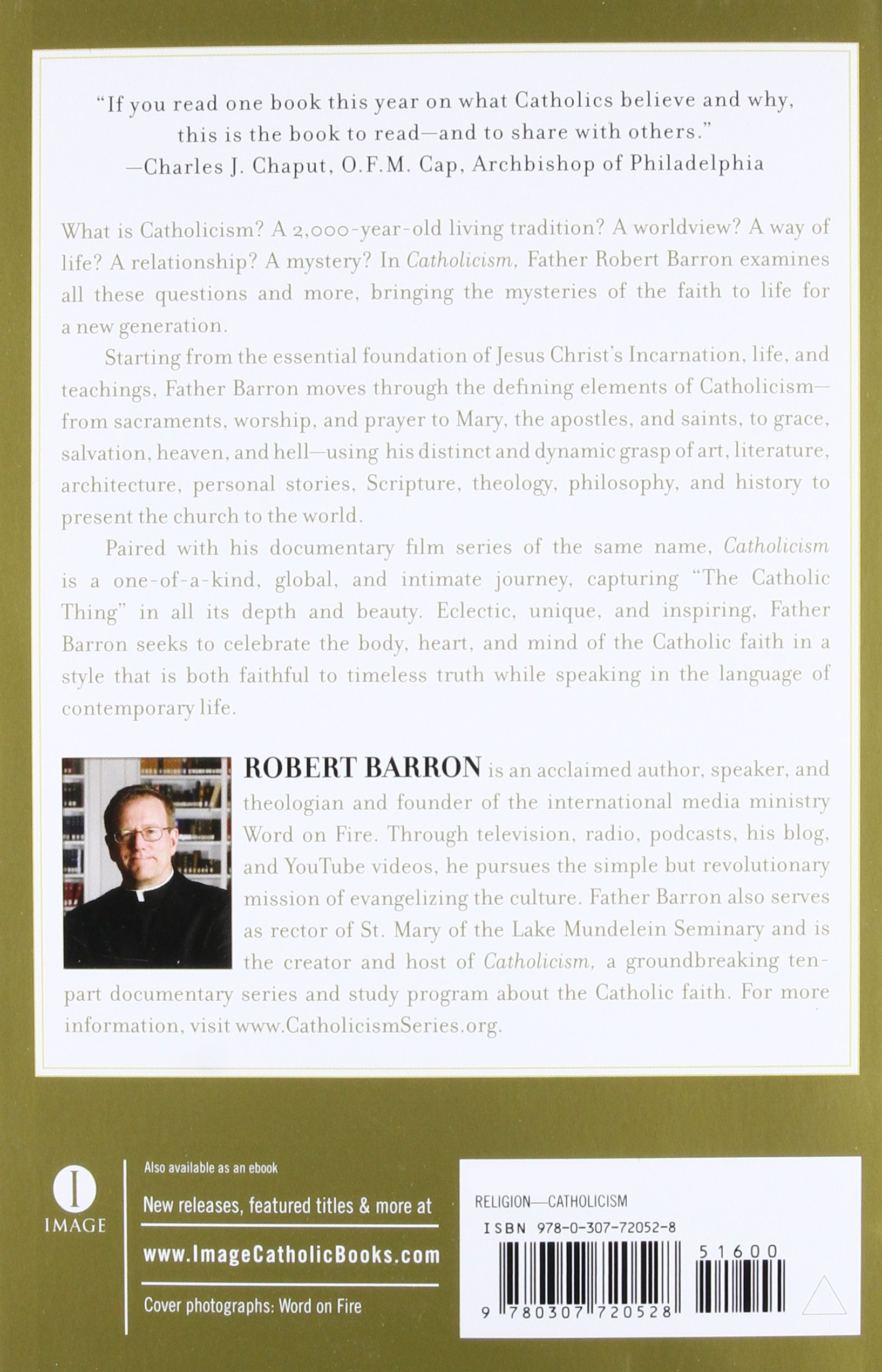 Catholicism a journey to the heart of the faith robert barron catholicism a journey to the heart of the faith robert barron 8601300190020 amazon books fandeluxe Images