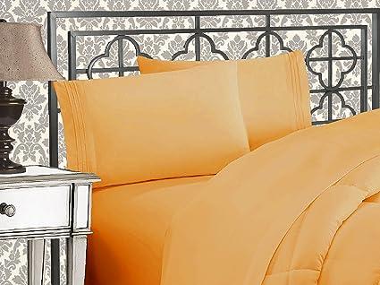 Merveilleux Elegant Comfort 1500 Thread Count Egyptian Quality 4 Piece Bed Sheet Sets,  Queen,