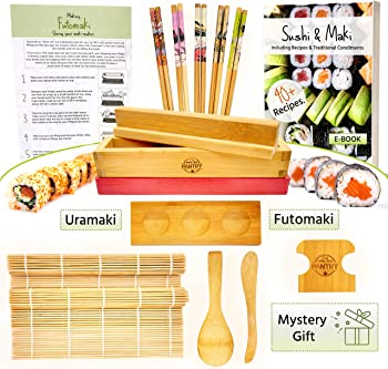 GROW YOUR PANTRY 12 Pieces Sushi Making Kit