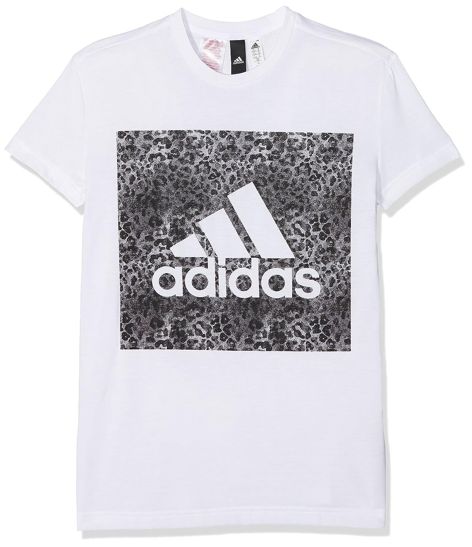 adidas Essentials Logo Loose Camiseta, Niñas: Amazon.es: Ropa y ...