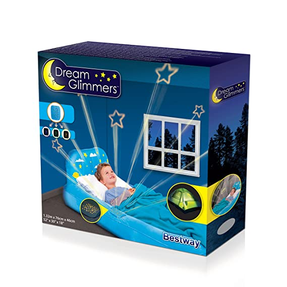 Cama Hinchable Infantil Bestway Dream Glimmers Confort 132x76x46 cm ...