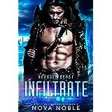 Infiltrate: A SciFi Alien Warrior Romance (Neander Beast Book 1)