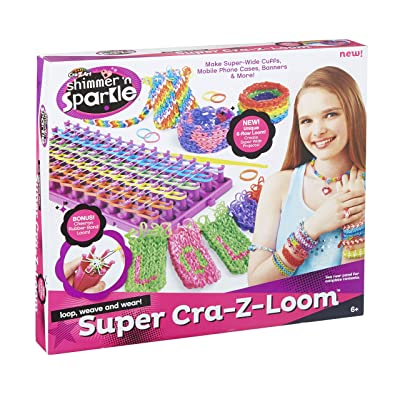 CRA-Z-Loom Super CRA-Z-Loom W New Neon Bands: Toys & Games