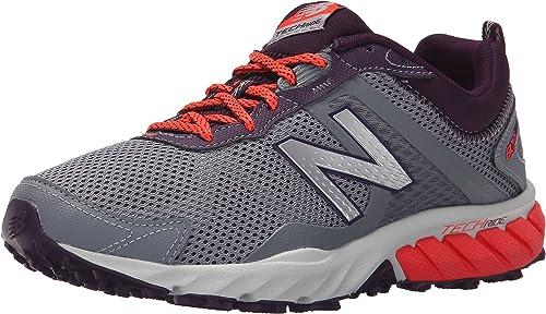 New Balance Wt610 Trail Zapatillas funcionales, Color Negro y Rosa ...