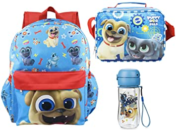 Image Unavailable. Image not available for. Colour  Puppy Dog Pals Rolly  16 quot  Backpack + Lunch Bag ... a3eb1aa44cd1d