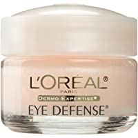 Eye Cream to Reduce Puffiness, Lines and Dark Circles, L'Oreal Paris Skincare Dermo-Expertise...