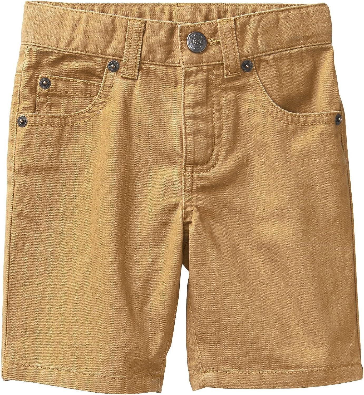 Crazy 8 Boys 5-Pocket Roll Hem Denim Short