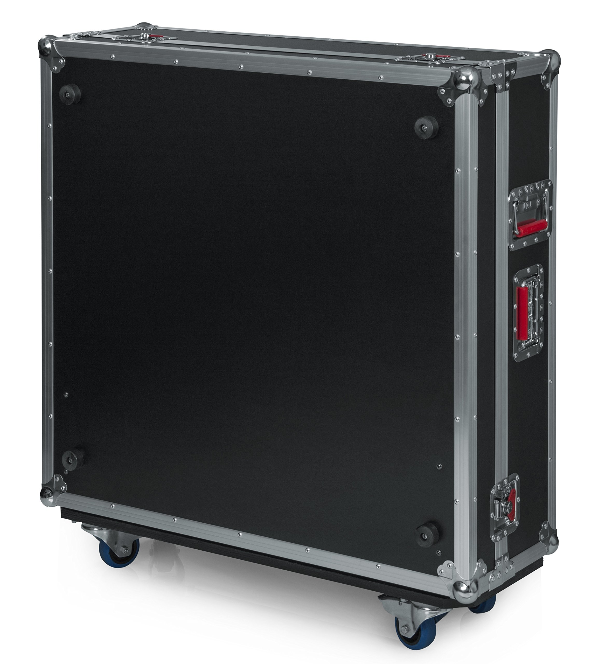Gator Cases G-TOUR ATA Style Road Case - Custom Fit for Yamaha TF5 Mixer with Dog House and Heavy Duty 4'' Casters; (G-TOURYAMTF5)