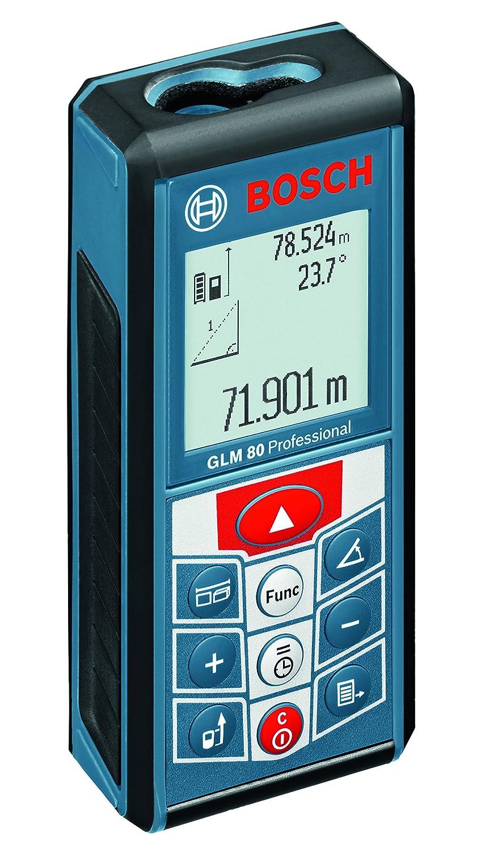 Bosch Professional Té lé mè tre laser GLM 80  avec sac de transport et chargeur 0601072300