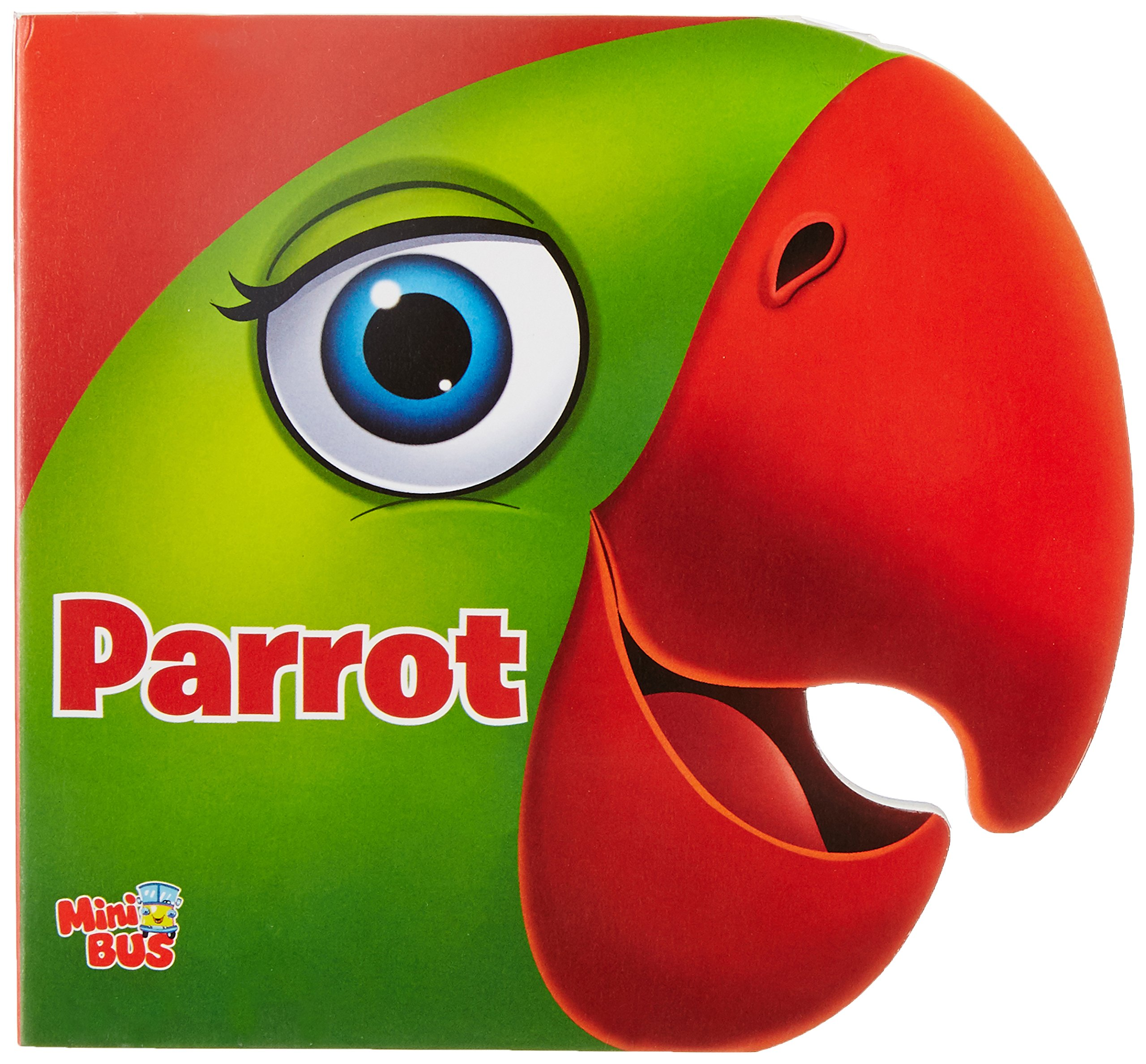 Download CUT OUT BOARD BOOK: ANIMALS PARROT pdf