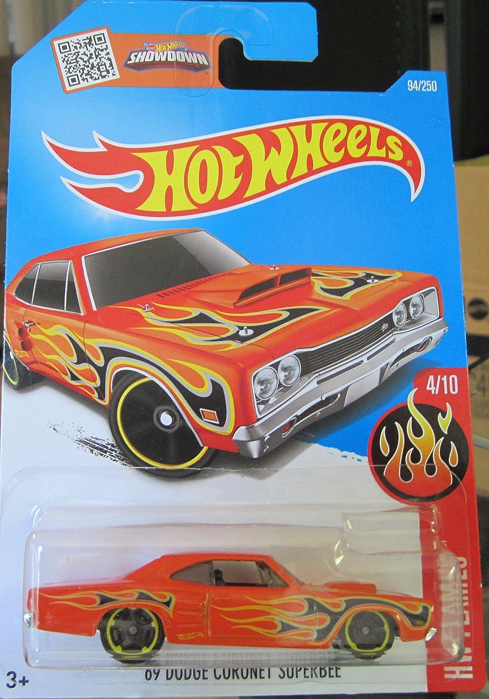 * /'69 Mercury Cyclone Coupe * Hot Wheels 2016-Flames 10//10 1