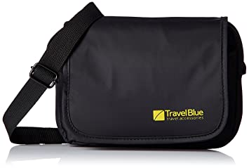 ecaef9001acd Travel Blue Polyester Black Messenger Bag (831)