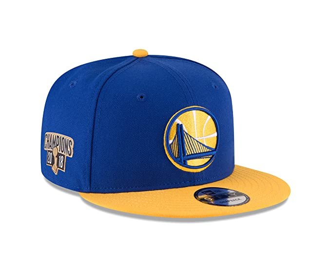 hot sale online 5089a aeaf2 Image Unavailable. Image not available for. Color  New Era Golden State  Warriors 2018 NBA ...