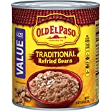 Old El Paso Refried Large Beans, 31 Ounce