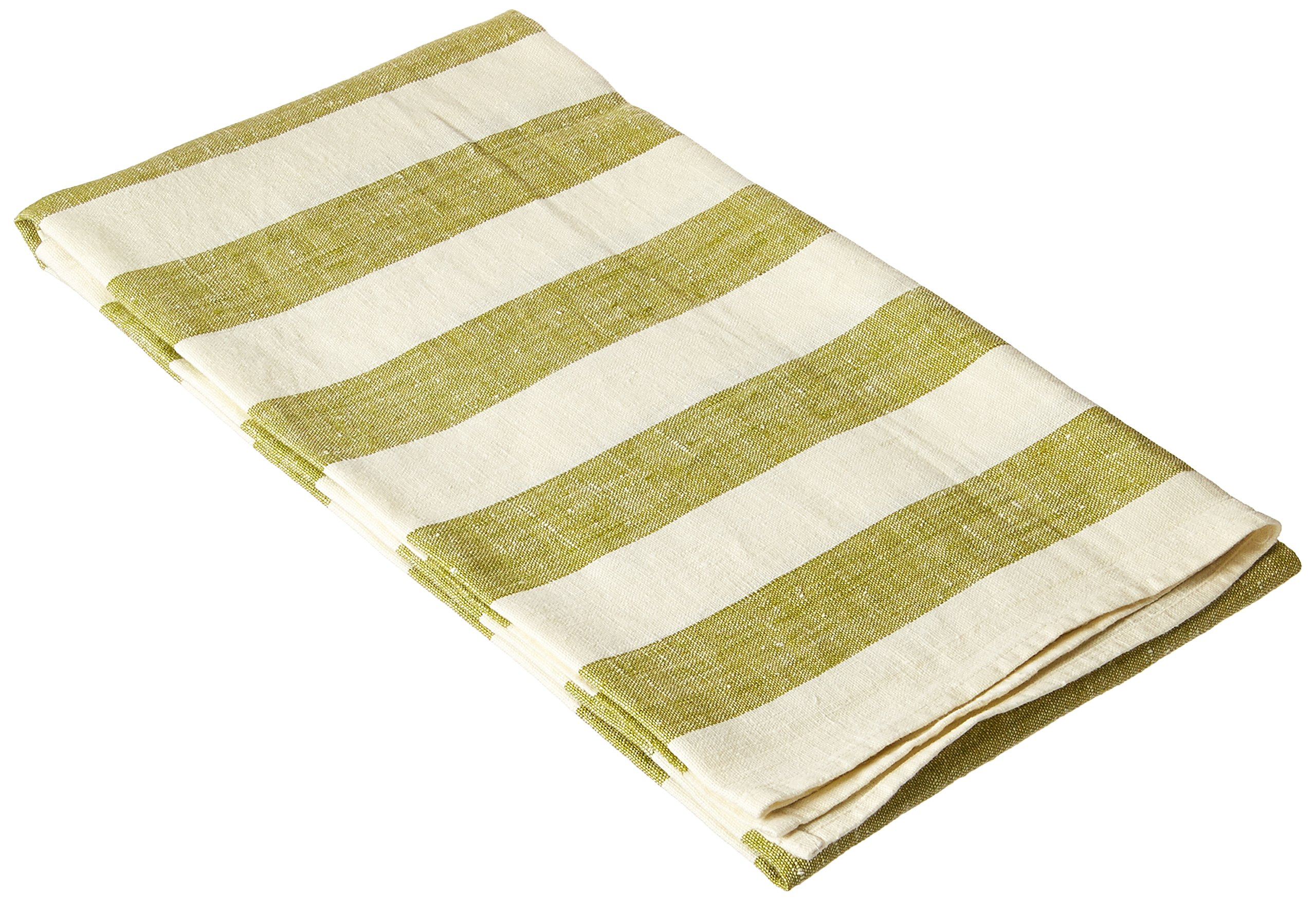 LinenMe Linen Bath Towel, 39 by 55-Inch, Philippe, Green - 100 % Linen Color: OLIVE GREEN Size: 39 by 55-Inch - bathroom-linens, bathroom, bath-towels - 91wRynu1QPL -