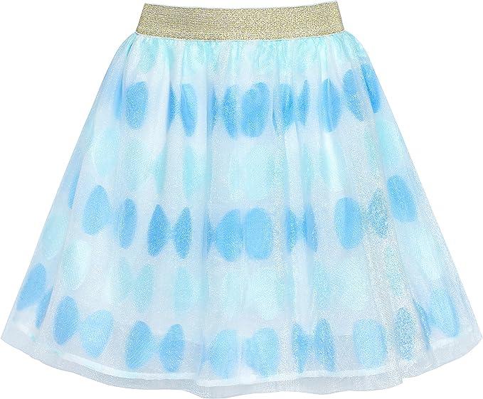 Sunny Fashion Girls Skirt Black Lace Tiered Tutu Dancing Dress Age 7-14 Years