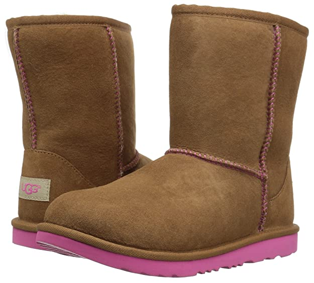 "UGG Kids' Classic Short Serein-K in ""Night Sky"" Big Kid 5 and Big Kid 6 just $64.97. In ""Diva Pink"" Big Kid 4 just $54.97, Big Kid 5 and Big Kid 6 just ..."