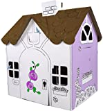 Box Creations Corrugated Play House - Markers Included