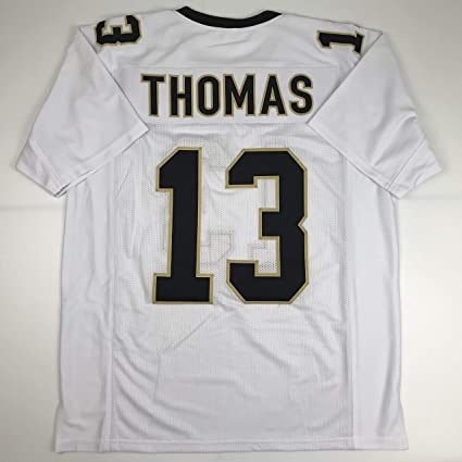 Unsigned Michael Thomas New Orleans White Custom Stitched Football Jersey  Size Men s XL New No Brands 17c3c66ad