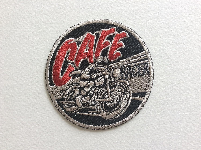 Toppa termoadesiva –  Cafe Racer –  7, 5 cm –  termoadesivo 5cm-termoadesivo BLUE HAWAI