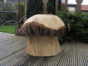 Holland Plastics Décoration de jardin en bois en forme de ...
