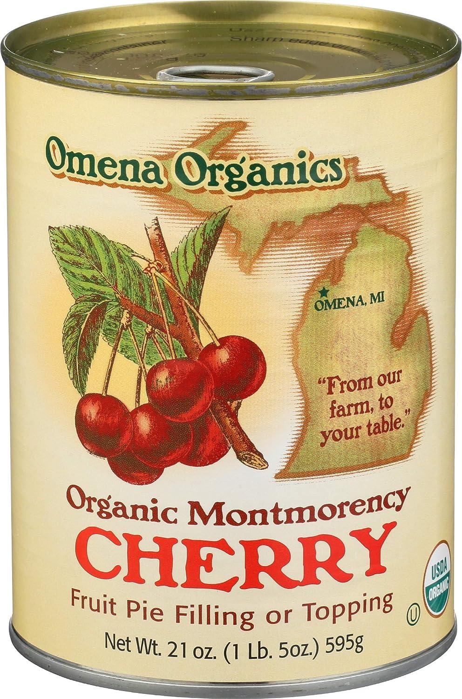 Omena Organics, Pie Filling Montmorency Cherry Organic, 21 Ounce
