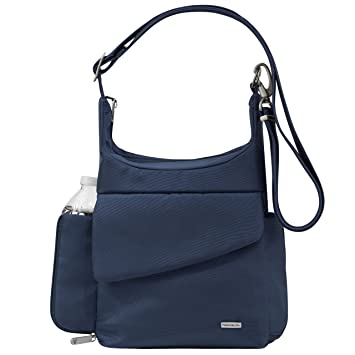 6a8e85b0d59068 Amazon.com | Travelon Anti-Theft Classic Messenger Bag, Midnight, One Size  | Messenger Bags
