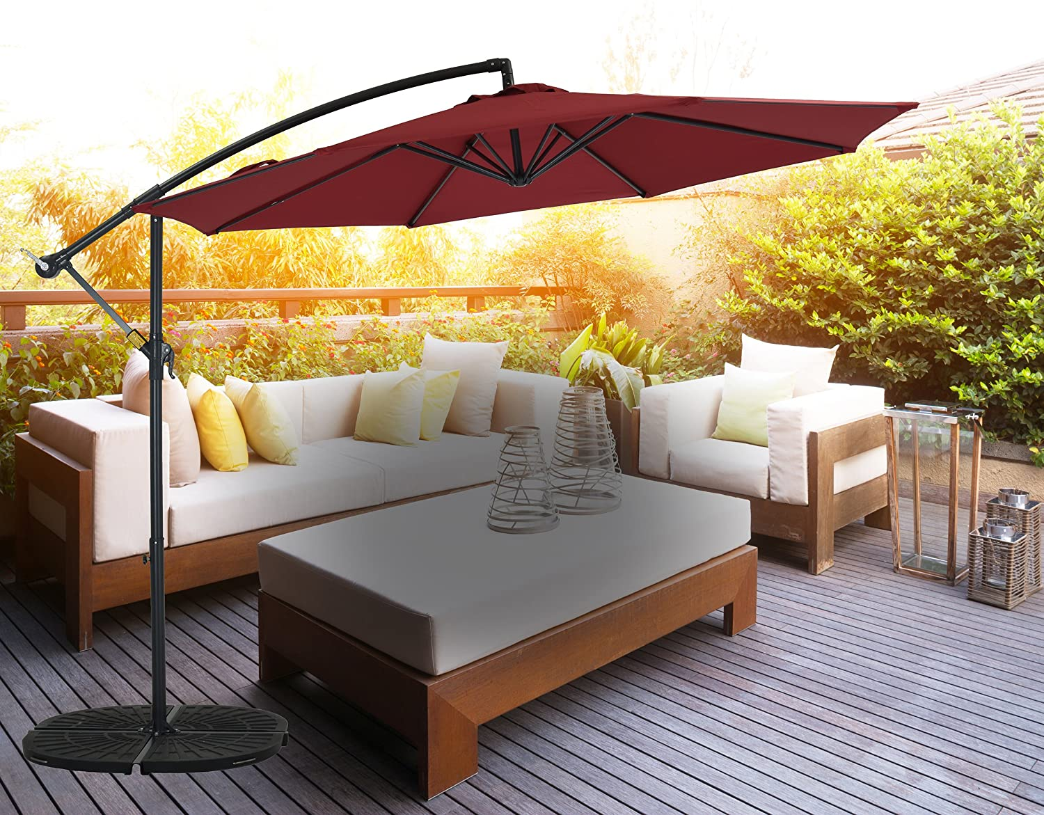 The Best Patio Umbrellas For Your Garden Or Backyard: Reviews & Buying Guide 6