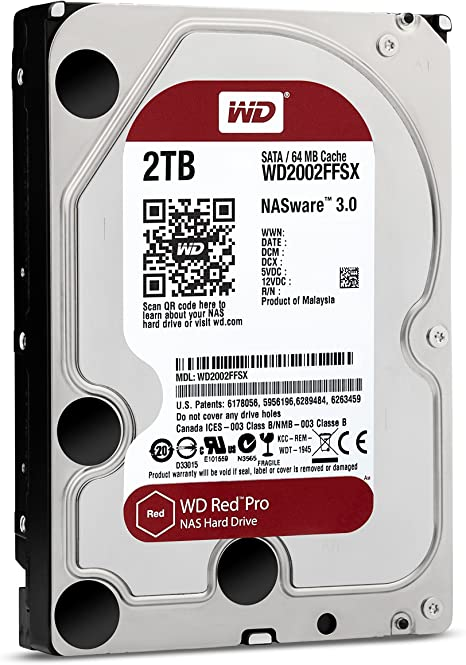 WD Red Intellipower, SATA a 6 GB//s, 16 MB de cach/é, 2,5 Disco Duro para Dispositivos NAS port/átiles de 750 GB