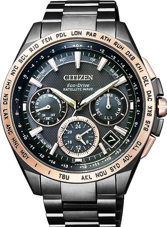[シチズン]CITIZEN 腕時計 ATTESA アテッサ LIGHT in BLACK Eco-Drive エコ・ドライブ GPS衛星電波時計 F900 ダブルダイレクトフライト CC9016-60E メンズ