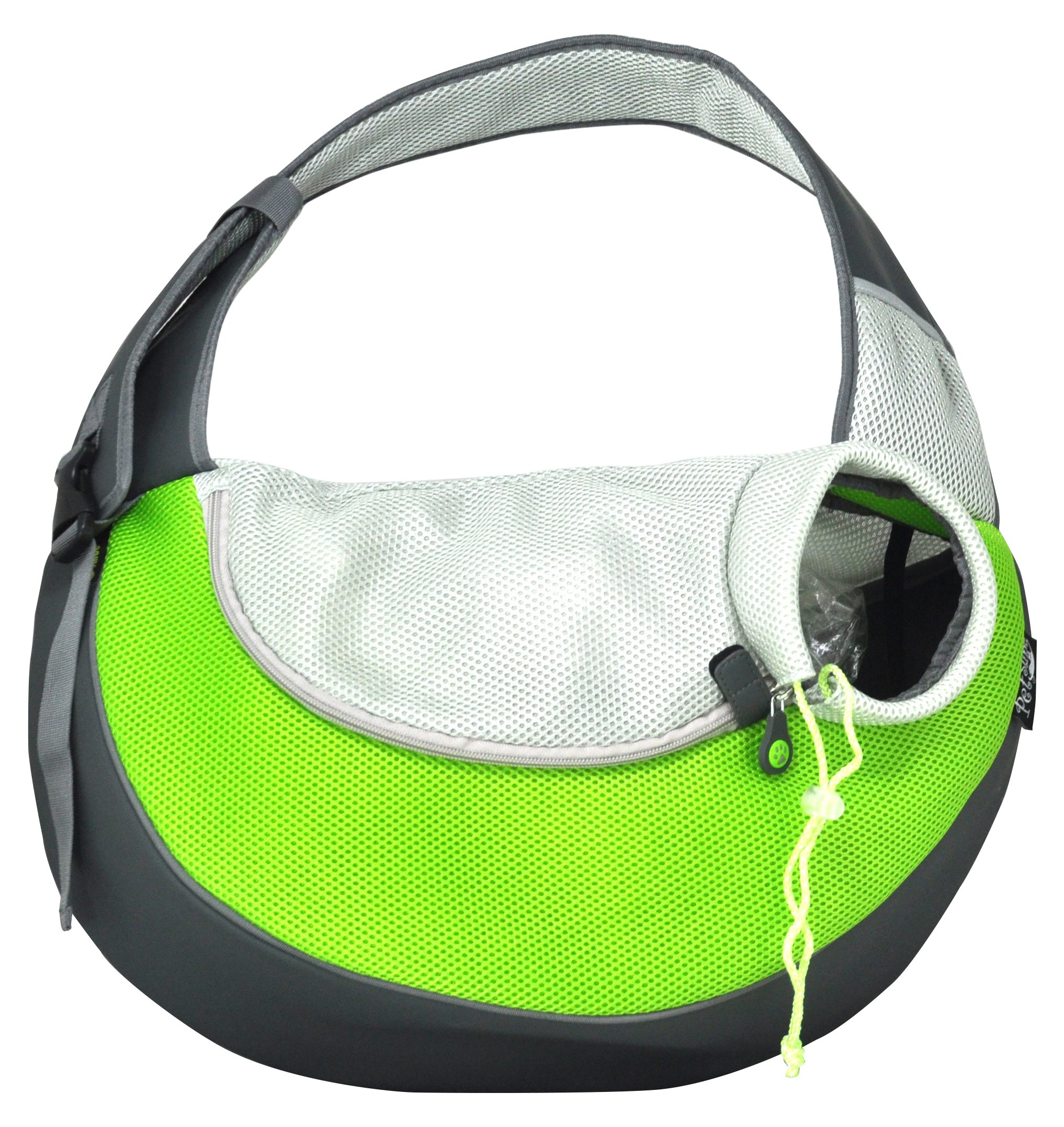 Crazy Paws Pet Sling Extra Large Green